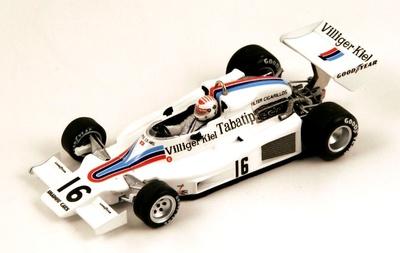"""Shadow DN8 """"GP. Austria"""" nº 16 Arturo Merzario (1977) Spark 1:43"""