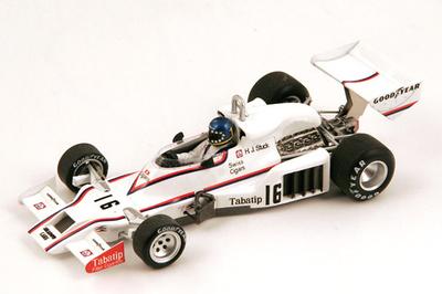 "Shadow DN8 ""GP. Brasil"" nº 16 Hans Stuck (1978) Spark 1:43"