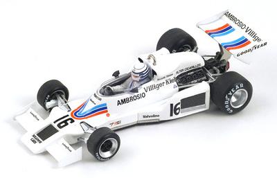 "Shadow DN8 ""GP. Japón"" nº 16 Riccardo Patrese (1977) Spark 1/43"