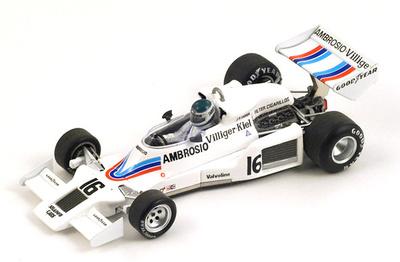 "Shadow DN8 ""GP. USA"" nº 16 Jean Pierre Jarier (1977) Spark 1/43"