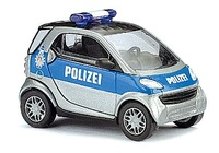 "Smart City Coupé Policía ""Hamburg"" Busch 1/87"