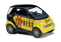 "Smart City Coupé ""Post Express"" Busch 1/87"