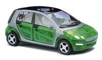 "Smart Forfour ""Hot Tropic"" Busch 1/87"