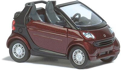 """Smart Fortwo Cabrio """"Truestyle"""" (1998) Busch 1/87"""
