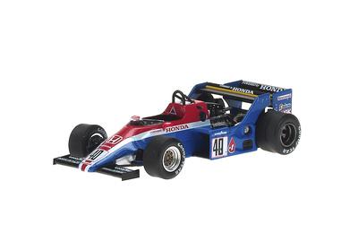 "Spirit 201C ""GP. Europa"" nº 40 Stefan Johansson (1983) Reve 1:43"