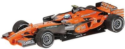 """Spyker F8-VII """"GP. Alemania"""" nº 21 Markus Winkelhock (2007) Minichamps 1/43"""