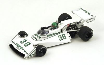"Surtees TS19 ""GP. Francia"" nº 38 Henri Pescarolo (1976) Spark S4005 1:43"