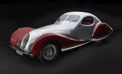 """Talbot-Lago Coupé Tipo 150 C-SS Figoni & Falaschi """"Teardrop"""" (1937-39) CMC 1:18"""