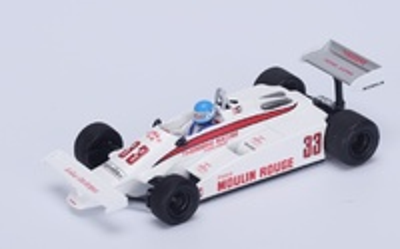 "Theodore TY01 ""6º GP. Long Beach"" nº 33 Patrick Tambay (1981) Spark 1:43"