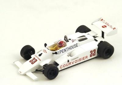 """Theodore TY01 """"GP. Holanda"""" nº 33 Marc Surer (1981) Spark 1:43"""