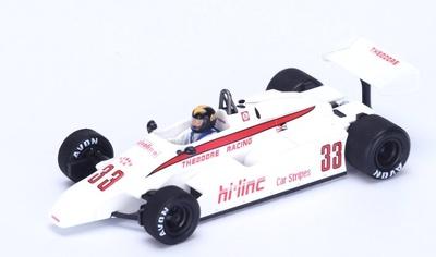 "Theodore TY01 ""GP. Sudáfrica"" nº 33 Derek Daly (1982) Spark 1:43"