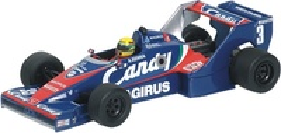 "Toleman Hart TG183B ""Car Test"" nº 3 Ayrton Senna (1983) Minichamps 1/43"
