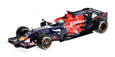 "Toro Rosso STR3 ""GP. Italia"" nº 14 Sebastian Bourdais (2008) Minichamps 1/18"