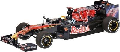 "Toro Rosso STR5 ""Showcar"" nº 16 Sebastian Buemi (2010) Minichamps 1/43"