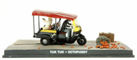 "Tuk Tuk Taxi (1980) James Bond ""Octopussy"" Fabbri 1/43 Entrega 29"