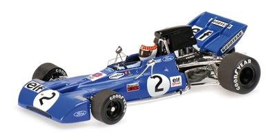 """Tyrrell 003 """"GP. Alemania"""" nº 2  Jackie Stewart (1971) Minichamps 1:43"""