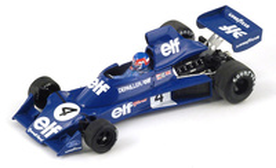 "Tyrrell 007 ""GP Bélgica"" nº 4 Patrick Depailler (1975) Spark 1/43"