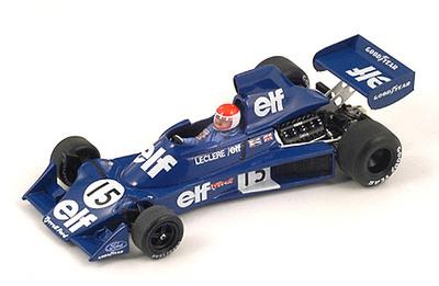 "Tyrrell 007 ""GP. USA"" nº 15 Michel Leclere (1975) Spark 1:43"