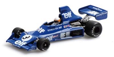 Tyrrell 007 nº 3 Jody Scheckter (1975) Minichamps 1/43