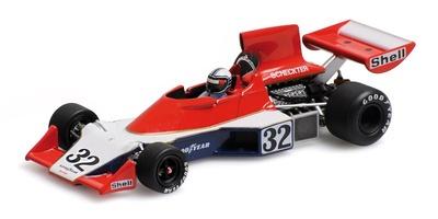 Tyrrell 007 nº 32 Ian Scheckter  (1975) Minichamps 1:43