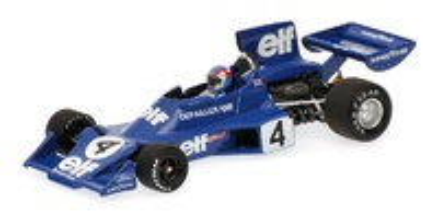 Tyrrell 007/2 nº 4 Patrick Depailler (1974) Minichamps 400740004 1/43