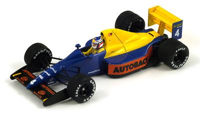 "Tyrrell 018 ""GP. Japón"" nº 18 Jean Alesi (1989) Spark"