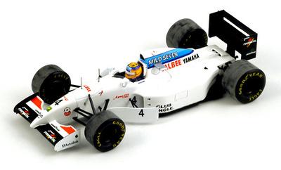 """Tyrrell 022 """"GP España"""" nº 4 Mark Blundell (1994) Spark 1/43"""