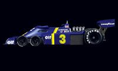 "Tyrrell P34 ""1º GP. Suecia"" nº 3 Jody Scheckter (1976) True Scale 1/43"