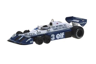 "Tyrrell P34 6 ruedas ""GP. Japón"" nº 3 Ronnie Peterson (1977) Reve 1/43"