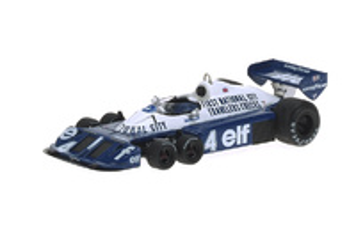 "Tyrrell P34 6 ruedas ""GP. Japón"" nº 4 Patrick Depailler (1977) Reve 1/43"
