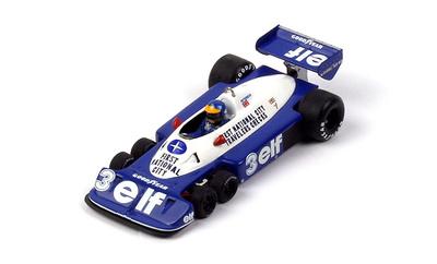 "Tyrrell P34 ""GP. Brasil"" nº 3 Ronnie Peterson (1977) TSM 1/43"