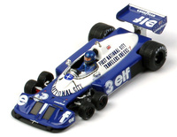 "Tyrrell P34 ""GP. USA"" nº 3 Ronnie Peterson (1977) TSM 1/43"