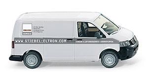 """VW Transporter T5 """"STIEBEL-ELTRON"""" Wiking 1/87"""