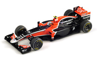 "Virgin MVR02 ""GP. China"" nº 25 Jerome De Ambrosio (2011) Spark 1/43"