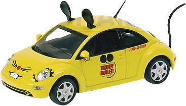 """Volkswagen New Beetle """"TRULY NOLEN PEST CONTROL"""" (1998) Minichamps 1/43"""
