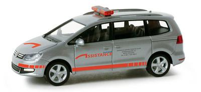 """Volkswagen Sharan """"Assistance"""" (2009) Herpa 1/87"""
