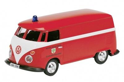Volkswagen T1 Bomberos (1960) Schuco 1/87