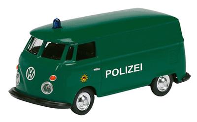 """Volkswagen T1 Bus """"Polizei"""" (1960) Schuco 1/87"""