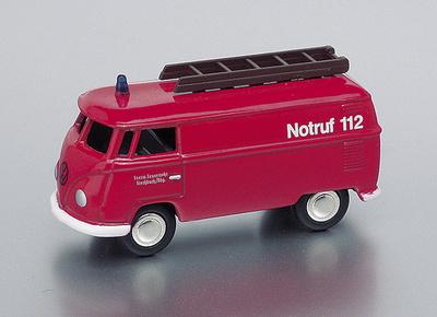 Volkswagen T1 Furgoneta Bomberos Bub 1/87