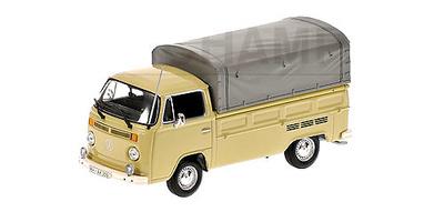 """Volkswagen T2 """"Pritsche"""" (1972) Minichamps 1/43"""