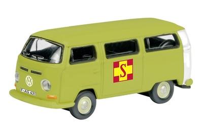 """Volkswagen T2a """"ASB"""" (1972) Schuco 1/87"""