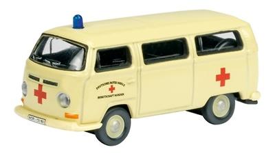 """Volkswagen T2a """"Ambulancia DRK"""" (1970) Schuco 1/87"""