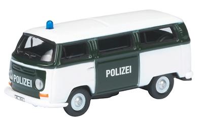"""Volkswagen T2a Bus """"Polizei"""" (1972) Schuco 1/87"""