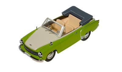 Wartburg 311 Cabiolet (1959) IST 1/43