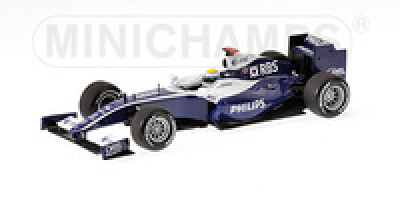 "Wiliiams FW31 ""Showcar"" Nico Rosberg (2009) Minichamps 1/43"