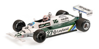 Williams FW07B nº 27 Alan Jones (1980) Minichamps 1:18