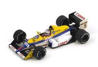 "Williams FW12 2º "" GP. Gran Bretaña"" nº 5 Nigel Mansell (1988) Spark 1:43"