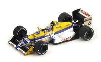 "Williams FW12 ""GP. Mónaco"" nº 6 Riccardo Patrese (1988) Spark 1:43"