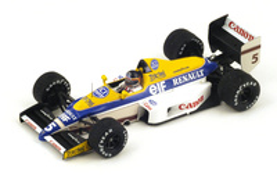 "Williams FW12C ""1º GP. Canadá"" 1989 nº 5 Thierry Boutsen (1989) Spark 1:43"