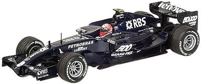 """Williams FW29 """"Test Jerez"""" nº 8 Kazuki Nakajima (2008) Minichamps 1/43"""